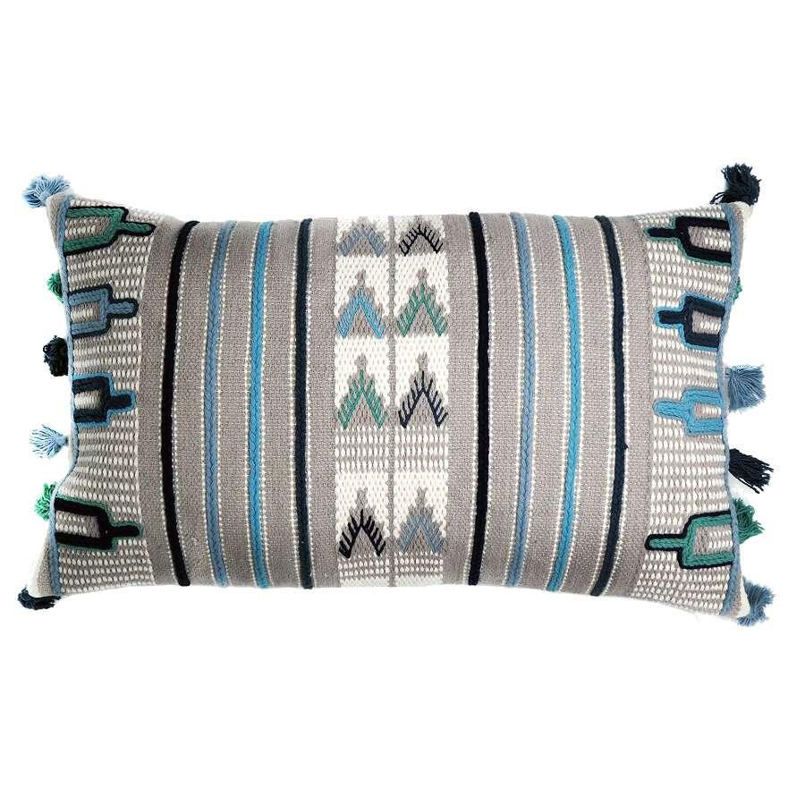 Чехол на подушку с этническим орнаментом TKANO TK18-CC0002
