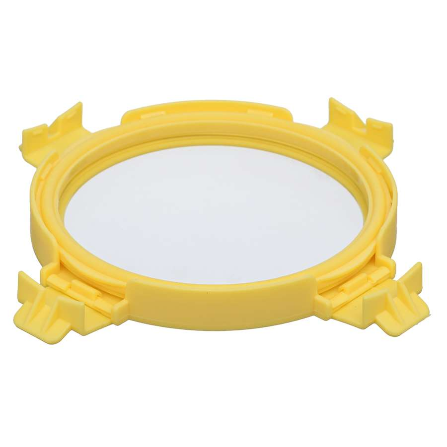 Контейнер для еды стеклянный 400 мл желтый SMART SOLUTIONS ID400RD_127C