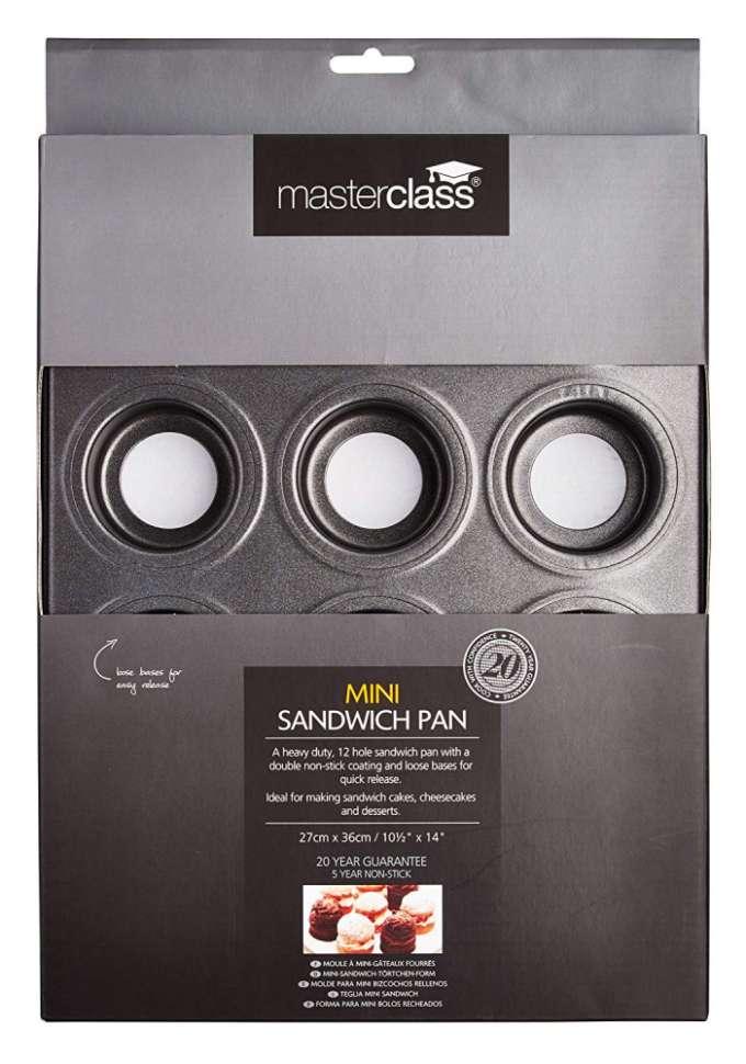 Форма для выпечки мини-сендвичей MasterClass KITCHEN CRAFT KCMCHB96