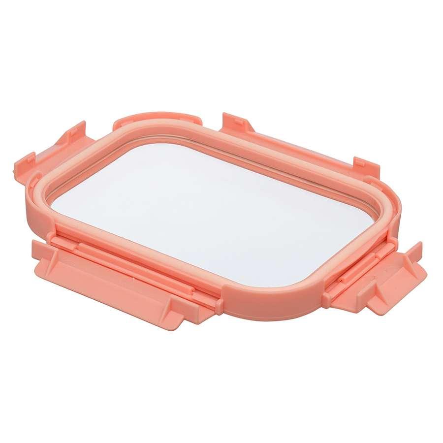 Контейнер для еды стеклянный 640 мл розовый SMART SOLUTIONS ID640RC_488C