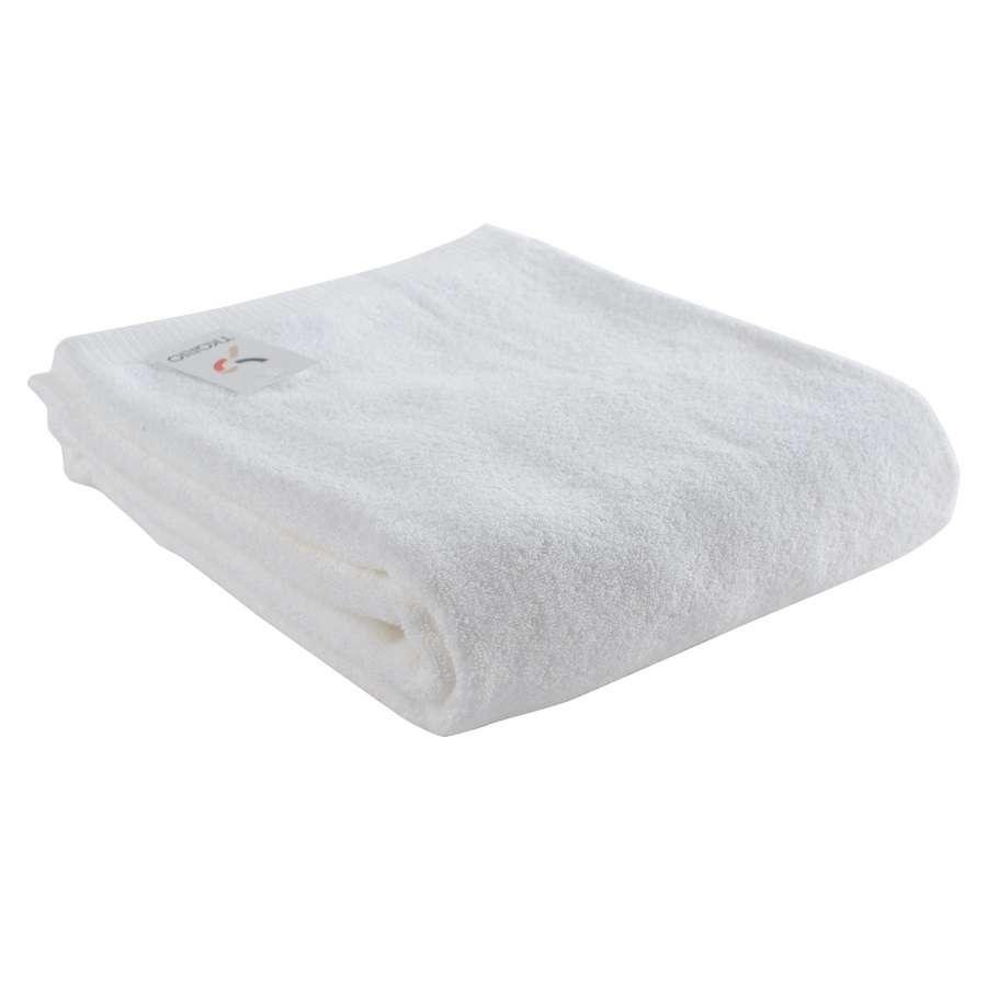 Полотенце банное белого цвета TKANO TK18-BT0020