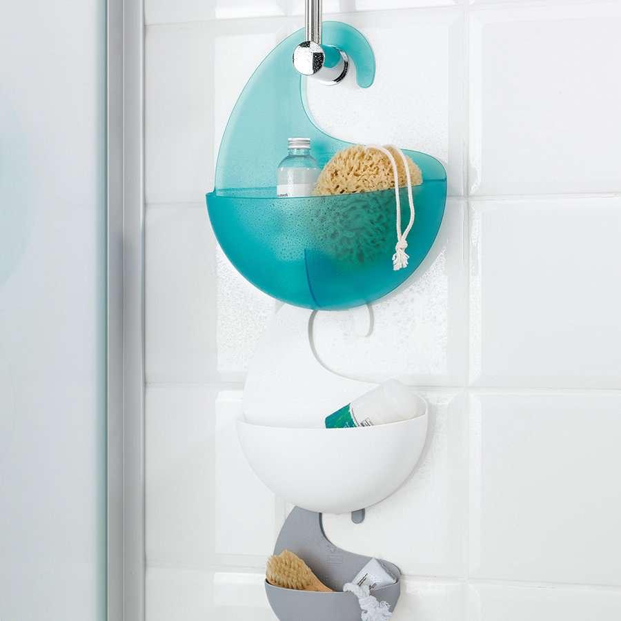 Органайзер для ванной SURF XL, белый  KOZIOL  2846525