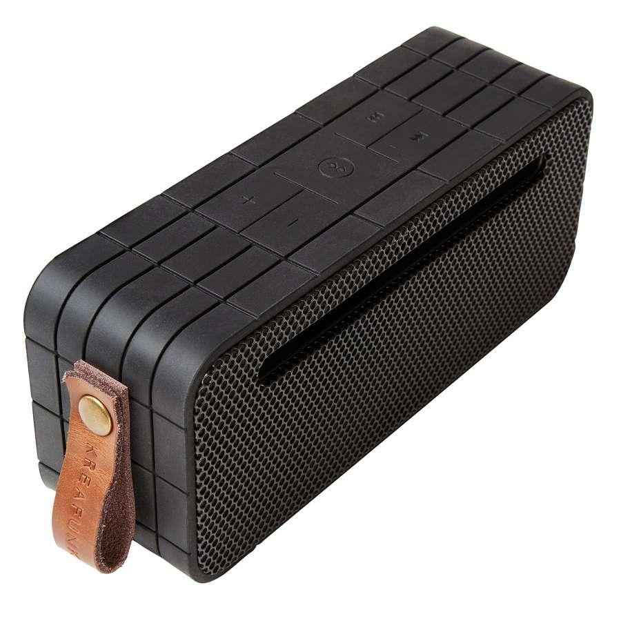 Колонка беспроводная с ремешком aMOVE black edition KREAFUNK Kfng70
