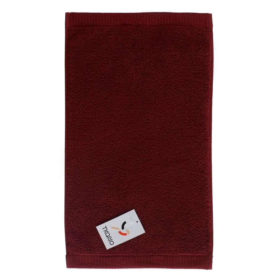 Полотенце для рук бордового цвета TKANO TK18-BT0009