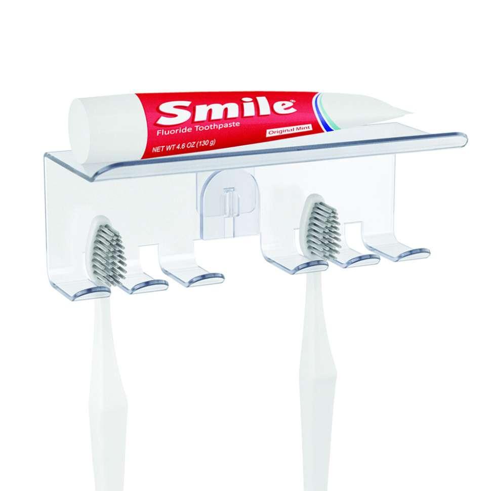 Полка для зубной пасты и щеток Basics