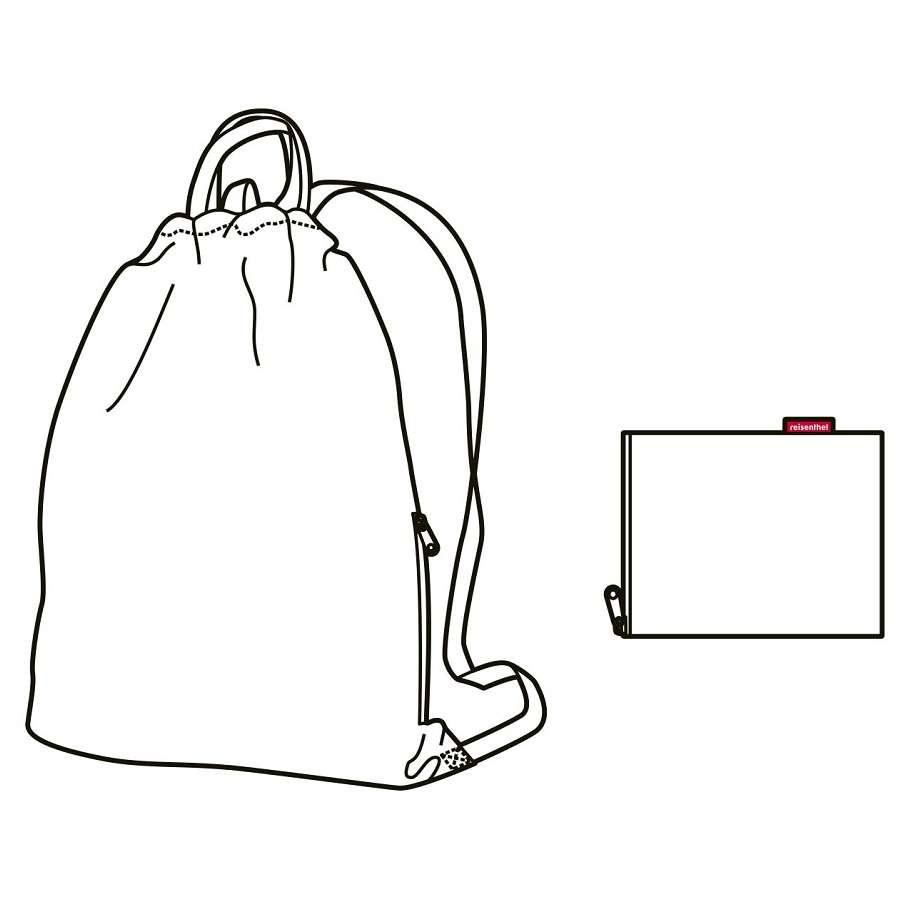 Рюкзак складной Mini maxi sacpack special edition bavaria 4 REISENTHEL AU4065