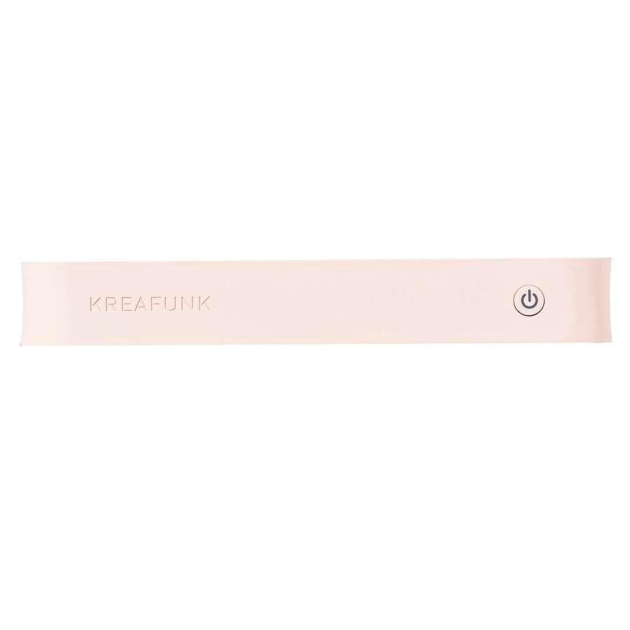 Колонка беспроводная aGROOVE светло-розовая KREAFUNK Kfdz56