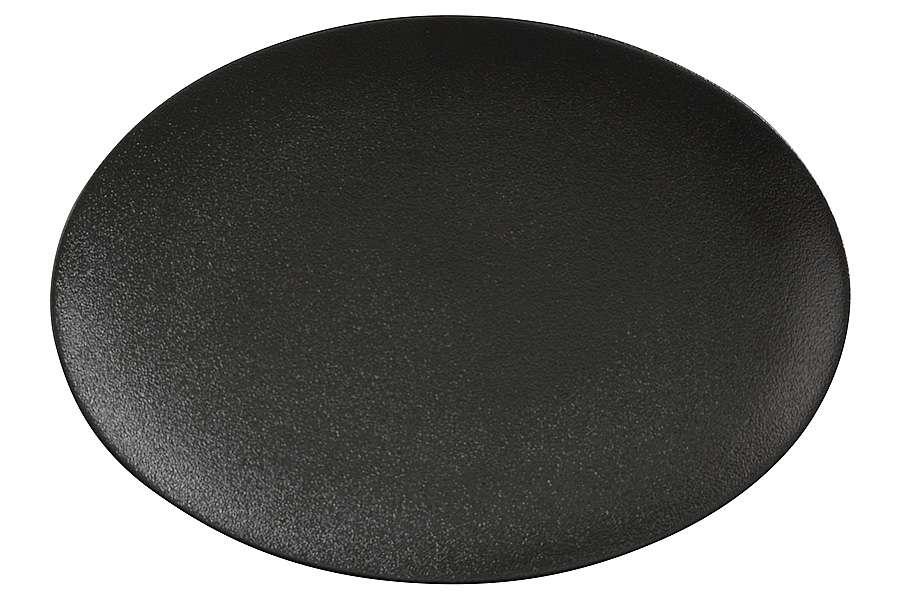 Тарелка овальная Икра (чёрная) без индивидуальной упаковки MAXWELL & WILLIAMS MW602-AX0205