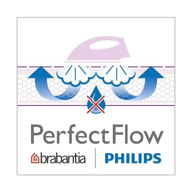 Чехол для гладильной доски PerfectFlow (размер С - 124х45см) Bubbles