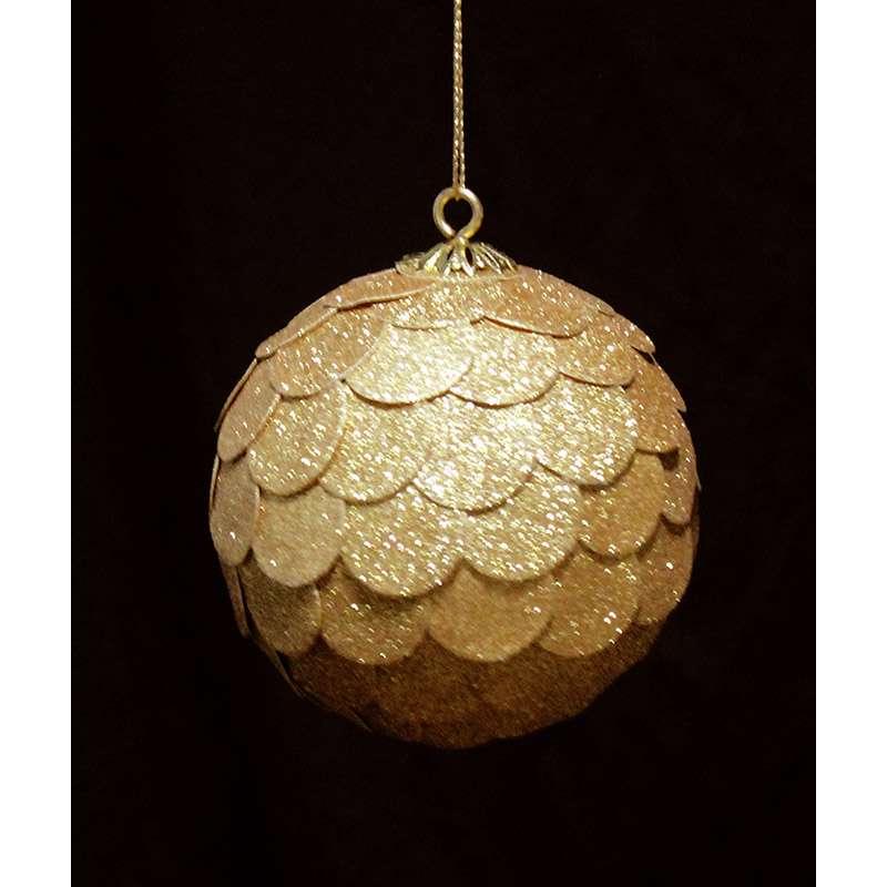 Шар новогодний декоративный Paper ball, золотой ENJOYME  en_ny0070