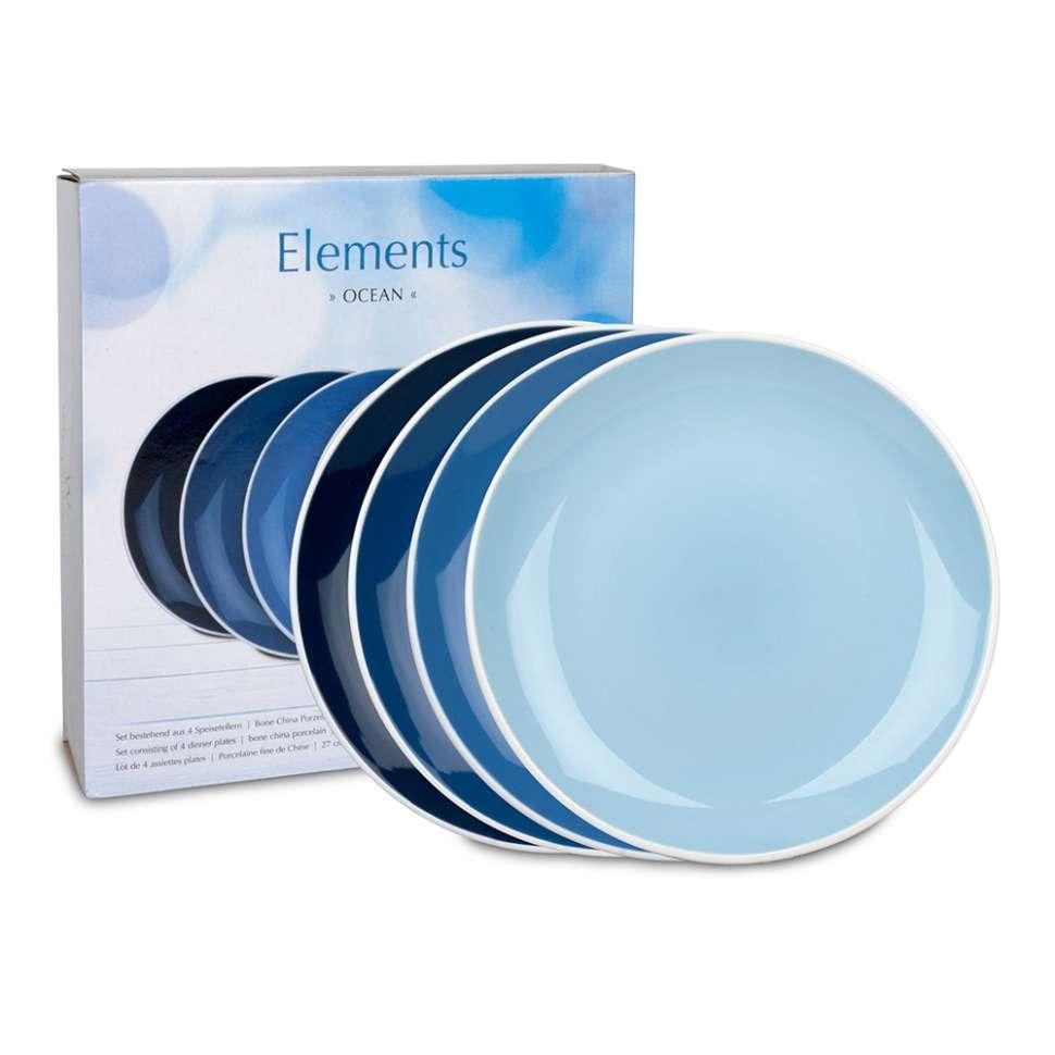 "Набор 4-х больших тарелок ""Океан"" WAECHTERSBACH 41 5 974 5000"