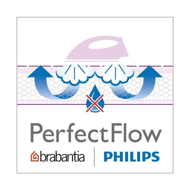 Чехол для гладильной доски PerfectFlow (размер D - 135х45см) Bubbles