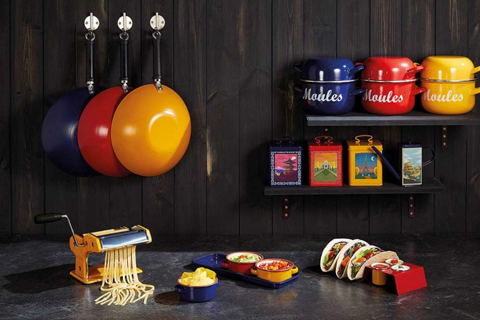 Набор посуды сервировочный эмалированный World of Flavors KITCHEN CRAFT WFENDIP3PC