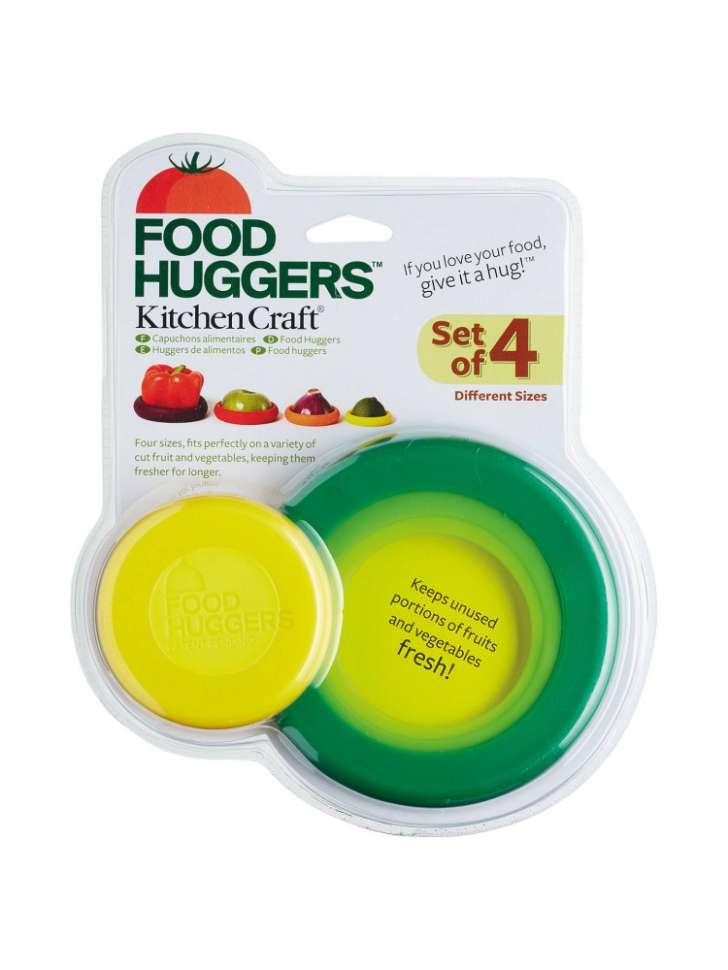 Набор крышек-подставок 4 шт. Food Huggers KITCHEN CRAFT KCFOODHUG