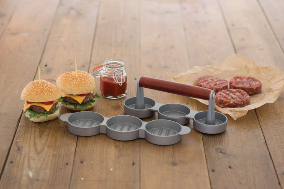 Мини-пресс для гамбургеров Home Made KITCHEN CRAFT KCHMMINIPRESS