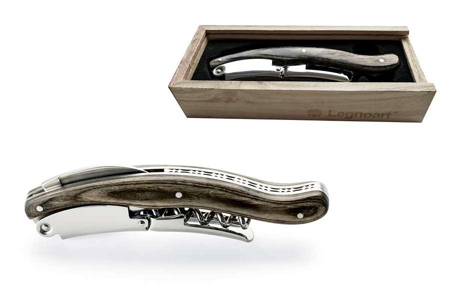 Штопор, серия Nebbiolo (серый) LEGNOART 002.060200.036