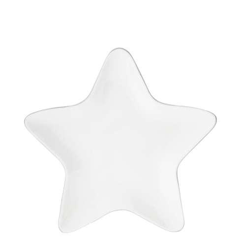 Тарелка Star Grey Edge BASTION COLLECTIONS LI/STAR PL 001 GR
