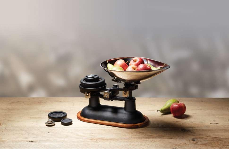 Весы кухонные механические Natural Elements KITCHEN CRAFT NETSCABLK