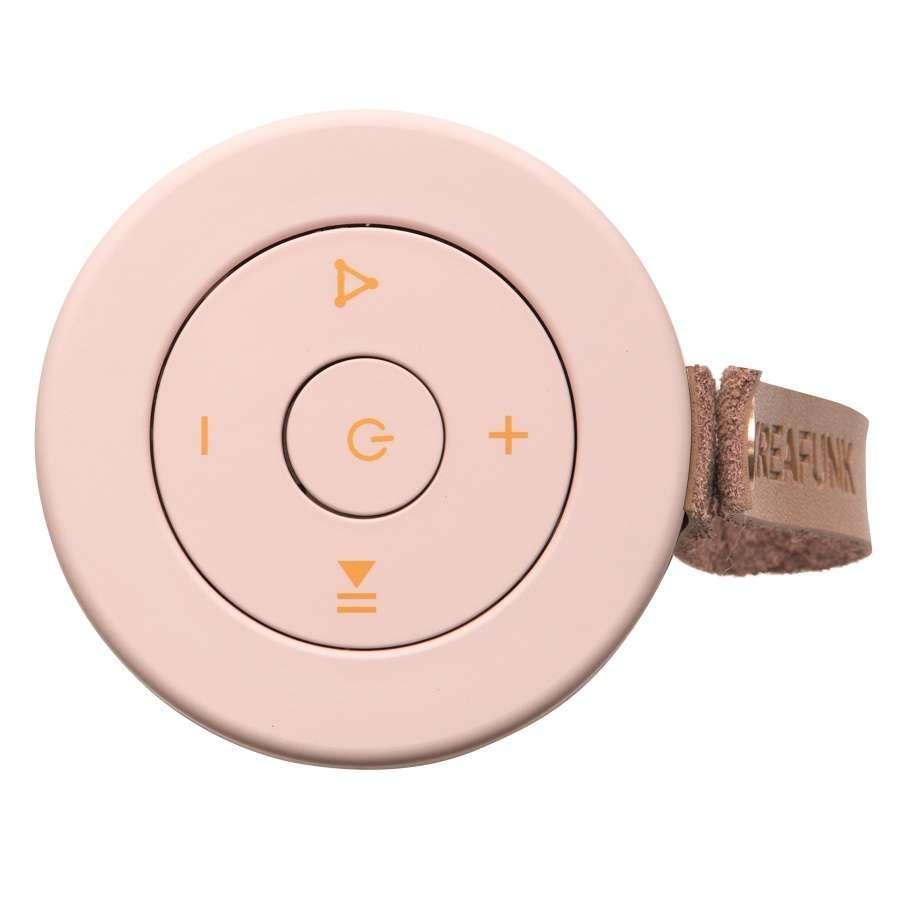 Колонка беспроводная с ремешком aFUNK, светло-розовая с бронзой KREAFUNK Kfcd03
