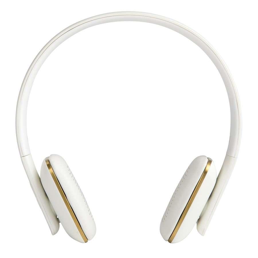 Наушники беспроводные aHEAD белые KREAFUNK Kfss01