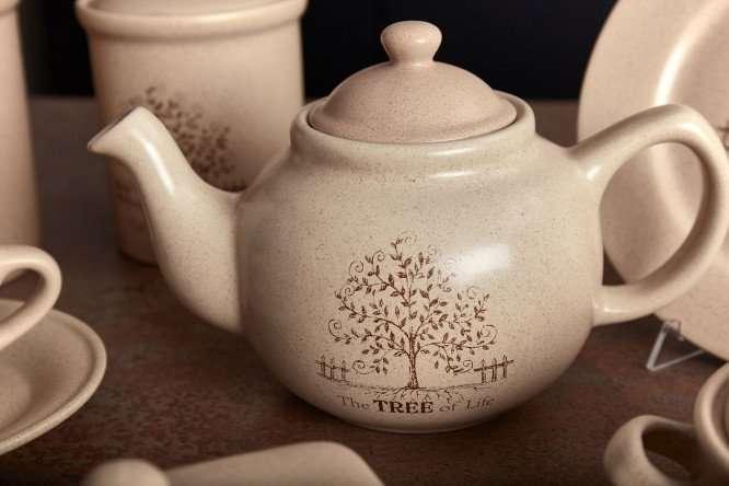 Чашка с блюдцем Дерево жизни TERRACOTTA TLY314S2-TL-AL