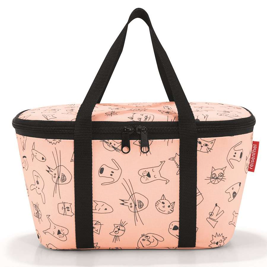 Термосумка детская Coolerbag XS cats and dogs rose REISENTHEL UF3064