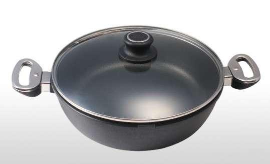 Сковорода c прессом и винтом для цыпленка табака BAF Gigant Newline 28 см 5001 13 28 5