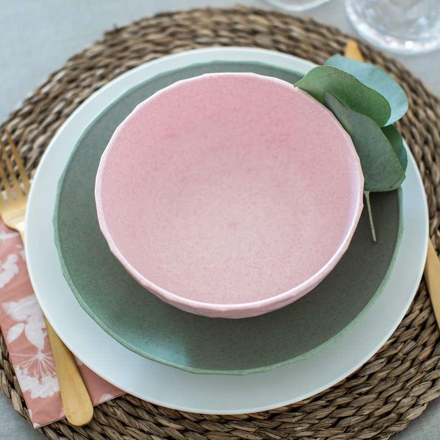 Тарелка суповая CLUB Organic, D 22 см, зелёная KOZIOL 4006668