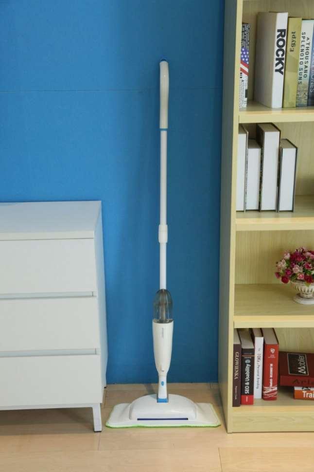 Швабра с распылителем Spray Mop с щеткой для мусора 3 в 1 BOOMJOY JY8818