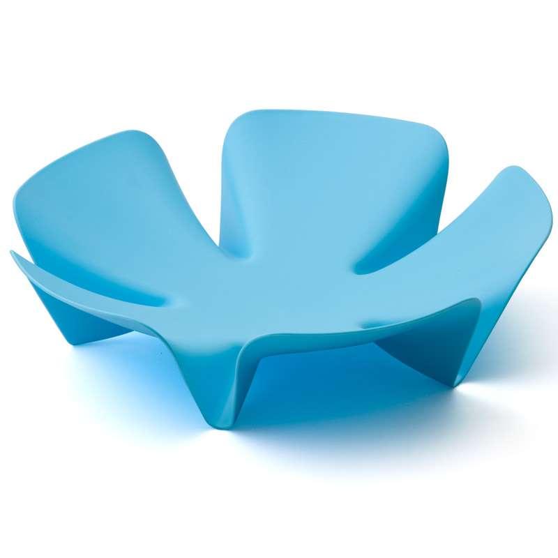 Ваза для фруктов Flower голубая QUALY QL10041-BU