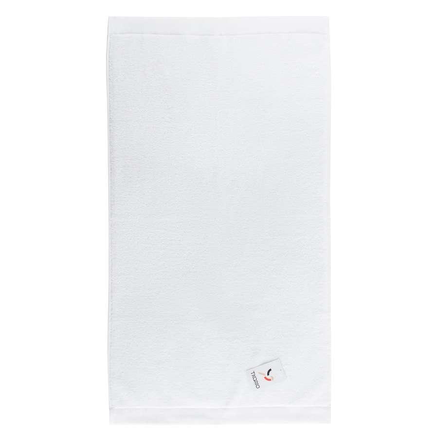Полотенце банное белого цвета TKANO TK18-BT0015