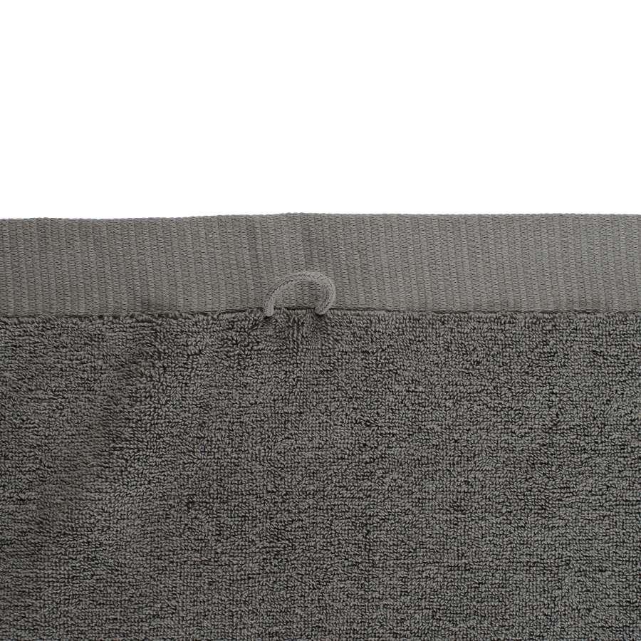 Полотенце банное темно-серого цвета TKANO TK18-BT0012