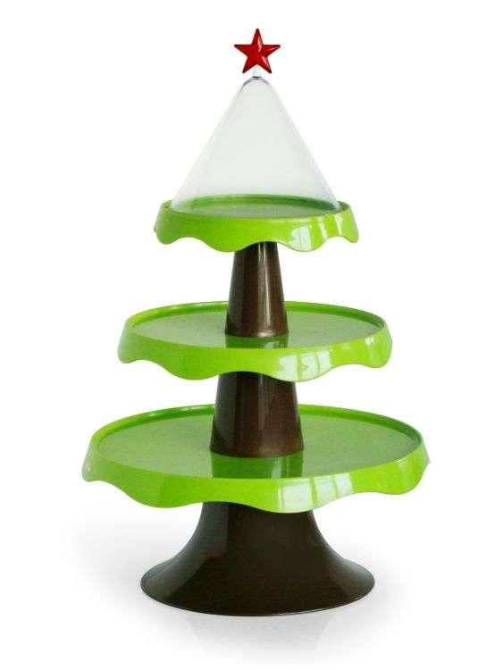 Этажерка подарочная Merry Tree зеленая QUALY QL10042-GN