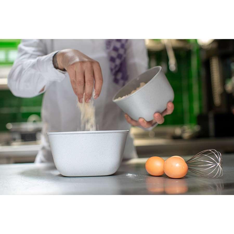 Контейнер для хранения продуктов CONNECT M Organic 1 л серый KOZIOL 3870670
