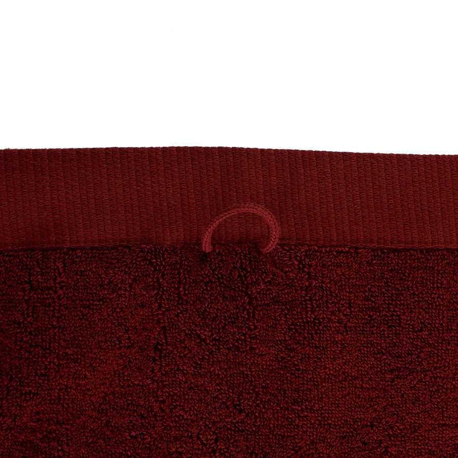 Полотенце банное бордового цвета TKANO TK18-BT0019