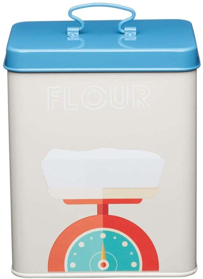 Банка для хранения муки Printed Flour KITCHEN CRAFT KCPTFLOUR