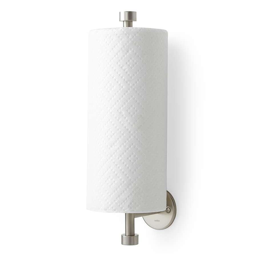 Держатель для бумажных полотенец настенный Cappa никель UMBRA 1009237-410