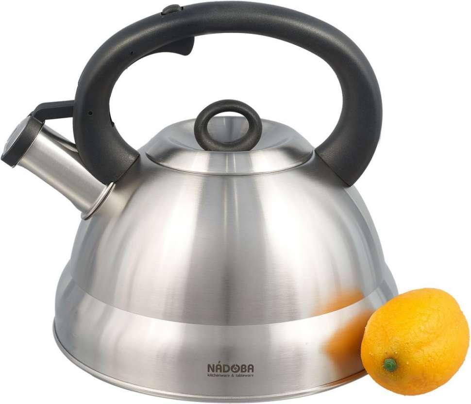 Чайник со свистком, 4 л, BERNA NADOBA 731101