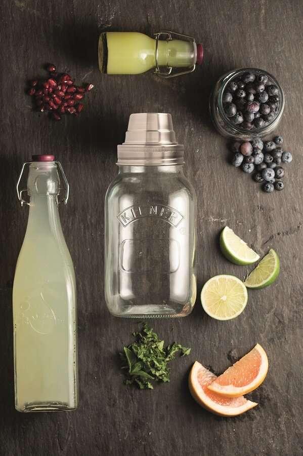 Бутылка Clip Top 0,55 л белая KILNER K_0025.857V