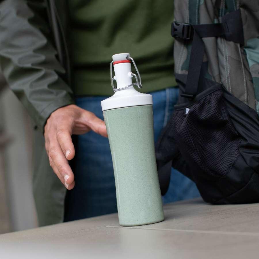Бутылка для воды PLOPP TO GO Organic 425 мл синяя KOZIOL 3796308