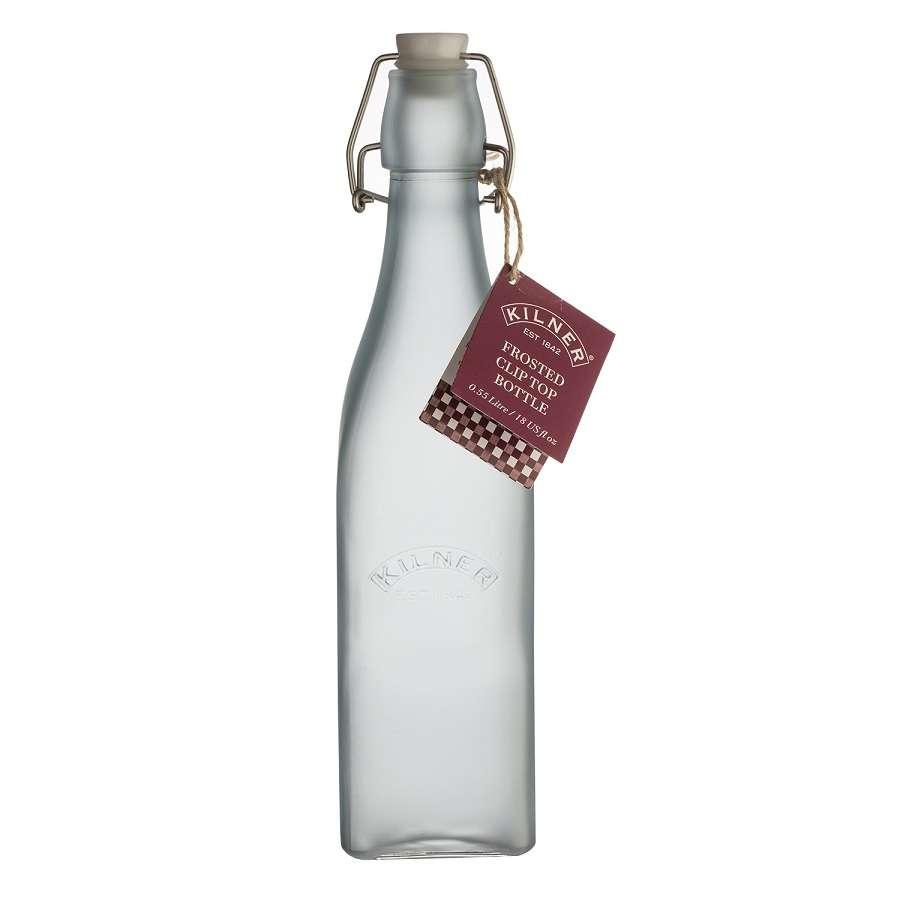 Бутылка Clip Top 0,55 л голубая KILNER K_0025.858V