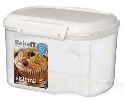 Контейнер 1,56л с чашкой SISTEMA BAKE-IT 1230