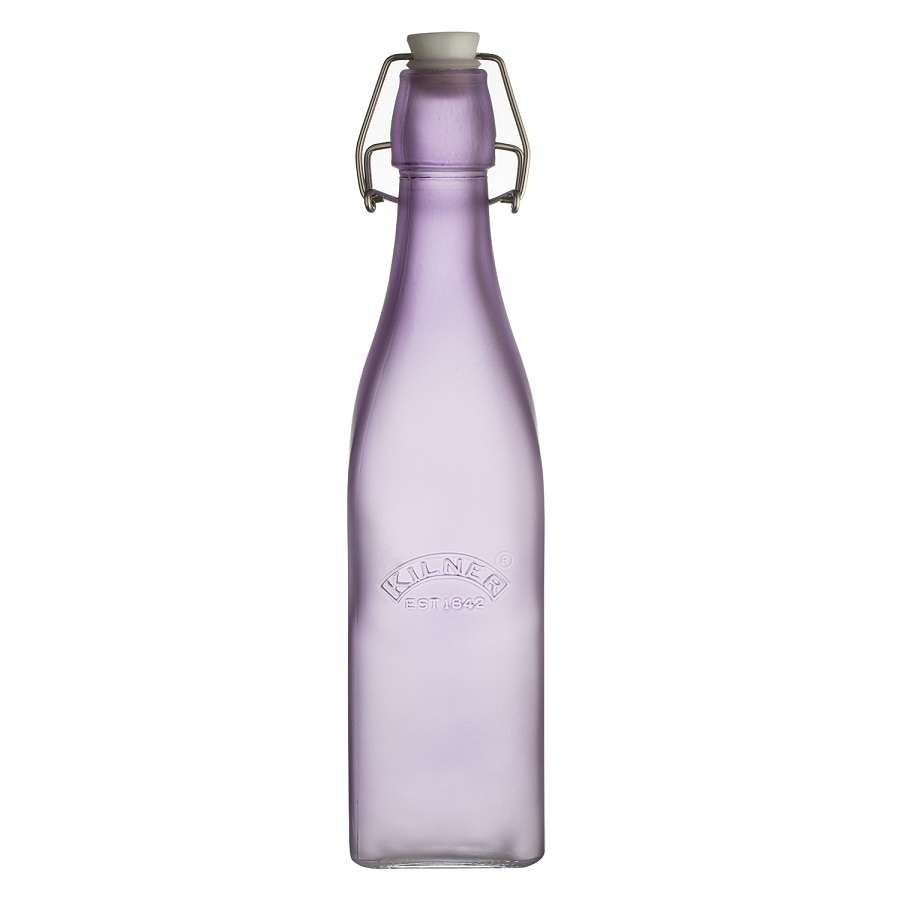 Бутылка Clip Top 0,55 л сиреневая KILNER K_0025.859V