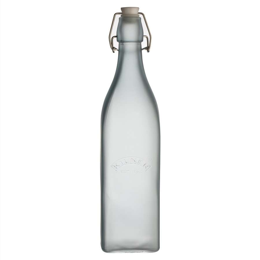 Бутылка Clip Top 1 л голубая KILNER K_0025.861V