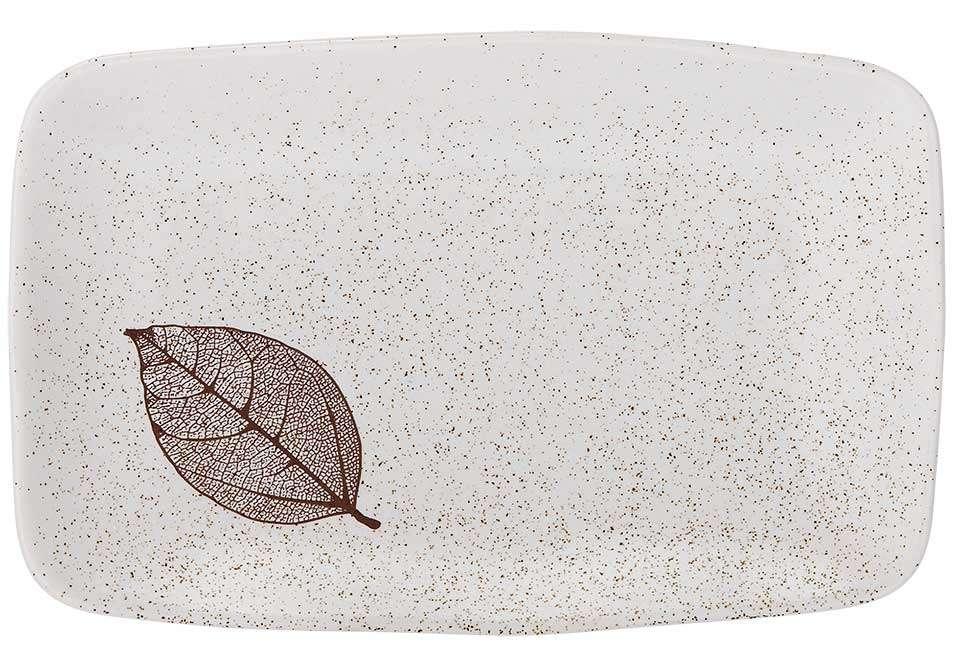 """Прямоугольный поднос """"Lantana white"""" 21 см ASHDENE 517196"""