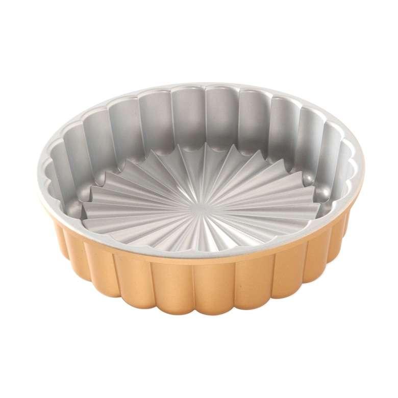 Форма для выпечки Nordic Ware Шарлотка, 1,4л, литой алюминий (золотая) NRD83577