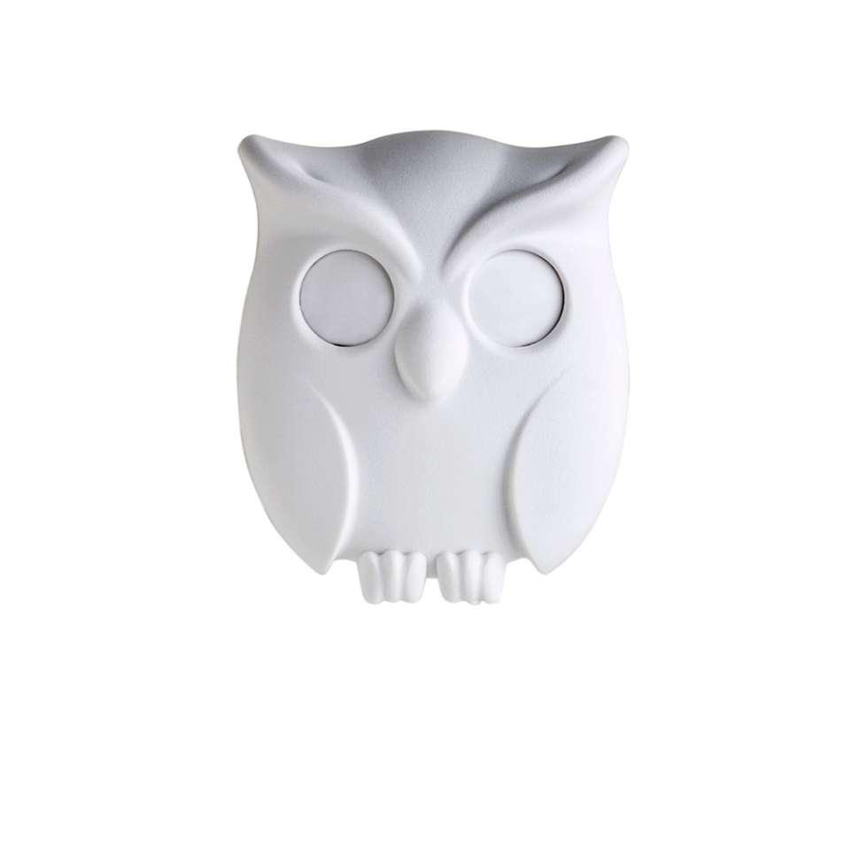 Держатель для ключей Night Owl белый QUALY QL10195-WH