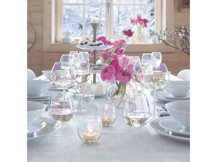 Набор из 4 бокалов для белого вина Pearl 325 мл LSA G1332-12-401