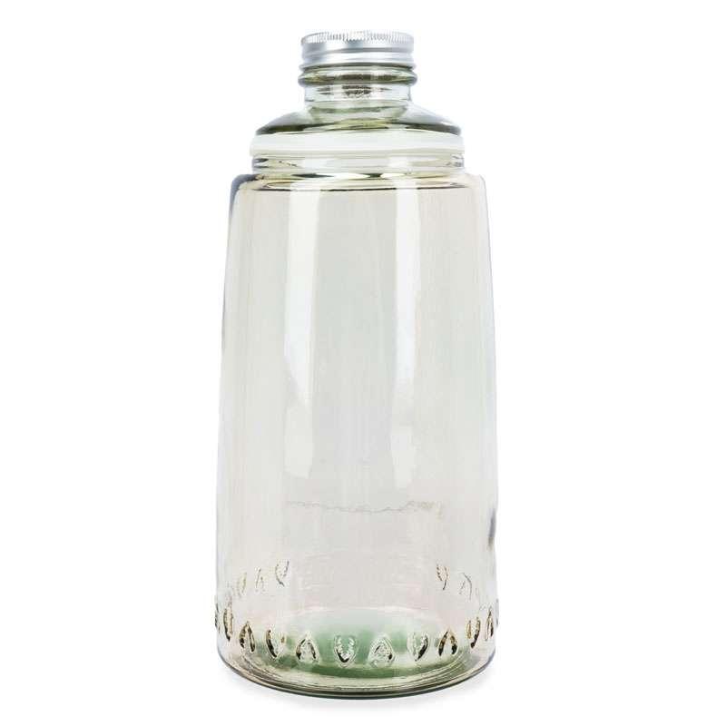 Бутылка для воды 1л со стаканом 0,22 л Natural  Water, коричневые SAN MIGUEL VSM-XRD8379-DB411