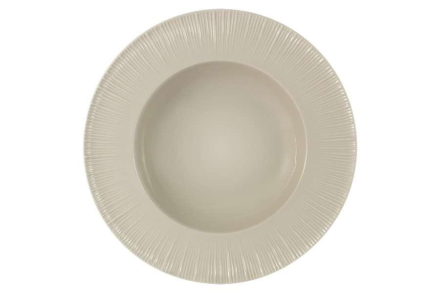 Тарелка суповая (карамель) без инд.упаковки Cocoa & Caramel HOME & STYLE HS4-G099-28G3S